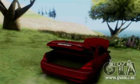 BMW 760i für GTA San Andreas rechten Ansicht