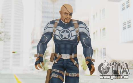 Marvel Future Fight - Nick Fury pour GTA San Andreas