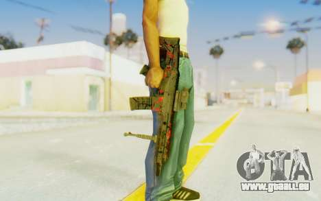ACR CQB Magma pour GTA San Andreas troisième écran