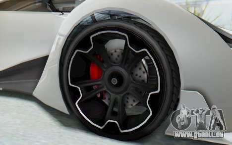 GTA 5 Grotti Prototipo v2 pour GTA San Andreas vue arrière