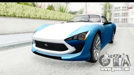 GTA 5 Lampadati Furore GT SA Lights für GTA San Andreas
