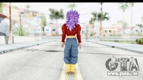 Dragon Ball Xenoverse Future Trunks SSJ4 für GTA San Andreas dritten Screenshot