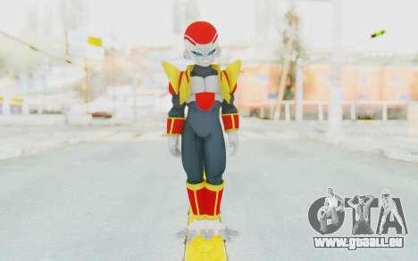 Dragon Ball Xenoverse Super Baby Frieza pour GTA San Andreas deuxième écran