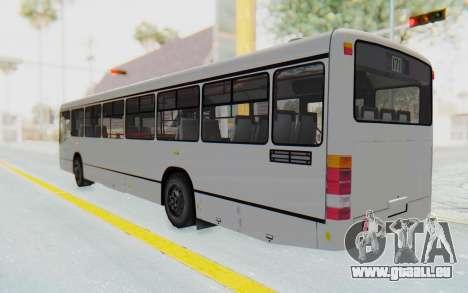 Pylife Bus pour GTA San Andreas laissé vue