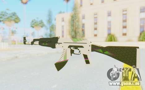CS:GO - AK-47 Sport für GTA San Andreas zweiten Screenshot