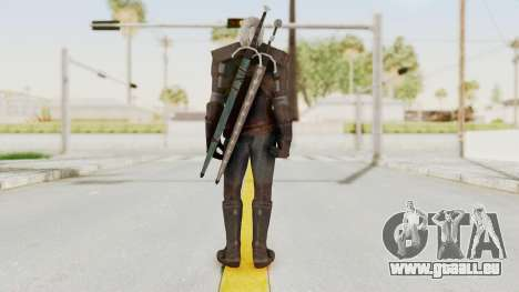 The Witcher 3: Wild Hunt - Geralt of Rivia pour GTA San Andreas troisième écran