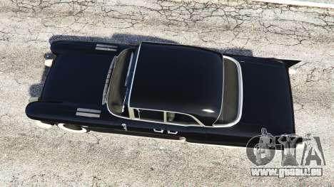GTA 5 Cadillac Eldorado Brougham 1957 v1.1 Rückansicht