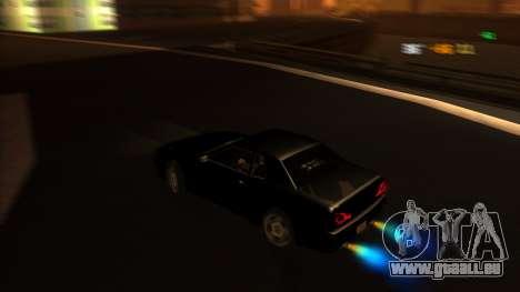 Elegy Bushido pour GTA San Andreas vue de droite