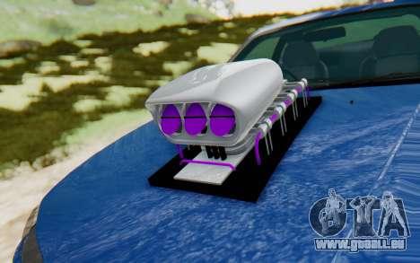 Nissan Silvia S15 Monster Truck für GTA San Andreas Rückansicht