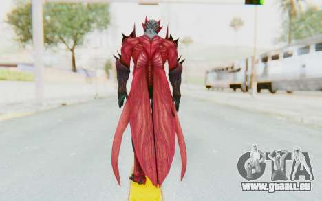 Devil May Cry 4 - Dante Demon für GTA San Andreas dritten Screenshot