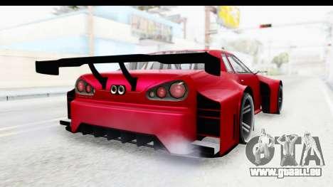 Elegy KraZ Edition Beta 0.8.5 pour GTA San Andreas sur la vue arrière gauche
