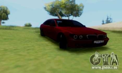 BMW 760i pour GTA San Andreas