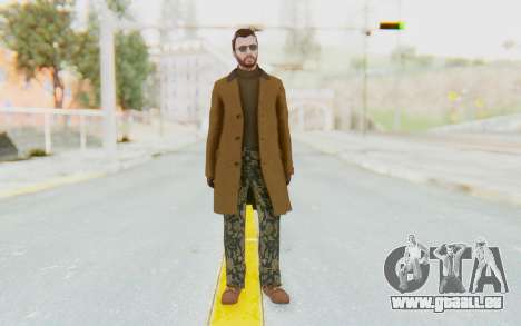 GTA 5 DLC Finance and Felony Male Skin für GTA San Andreas zweiten Screenshot