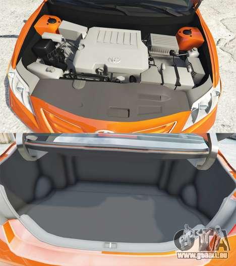 GTA 5 Toyota Camry V40 2008 [add-on] rechte Seitenansicht