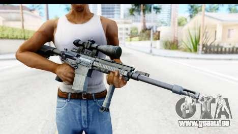 CoD Ghosts - G-28 Custom für GTA San Andreas dritten Screenshot