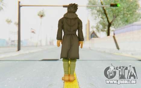 Dragon Ball Xenoverse Goten Time Patrol für GTA San Andreas dritten Screenshot