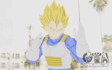 Dragon Ball Xenoverse Vegeta Android Saga SSJ für GTA San Andreas