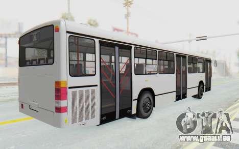 Pylife Bus pour GTA San Andreas sur la vue arrière gauche