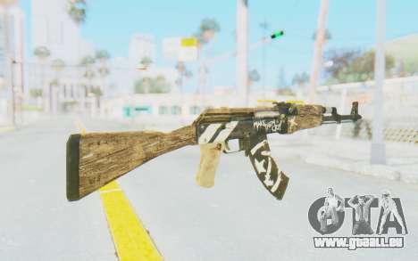 CS:GO - AK-47 Wasteland Rebel für GTA San Andreas zweiten Screenshot