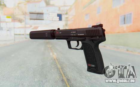 H&K 45 Silenced pour GTA San Andreas troisième écran