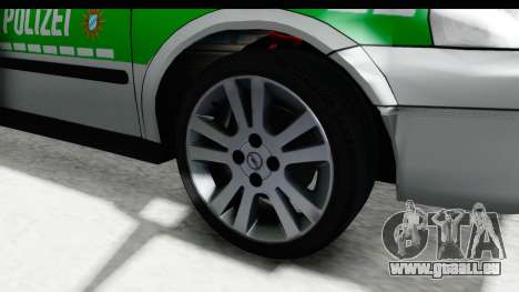 Opel Astra G Variant Polizei Bayern pour GTA San Andreas vue arrière