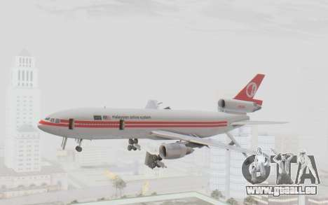 DC-10-30 Malaysia Airlines (Retro Livery) pour GTA San Andreas