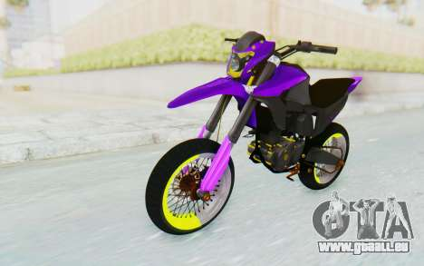 Honda NXR 160 Bros Supermoto Elite pour GTA San Andreas