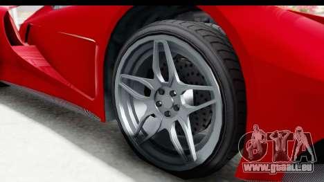 GTA 5 Vapid FMJ IVF pour GTA San Andreas vue arrière
