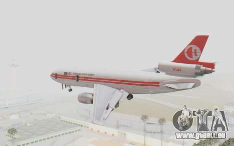 DC-10-30 Malaysia Airlines (Retro Livery) für GTA San Andreas linke Ansicht