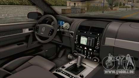 Volkswagen Passat B6 Variant pour GTA San Andreas vue intérieure