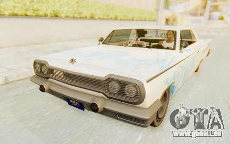 GTA 5 Declasse Voodoo Alternative v1 pour GTA San Andreas moteur