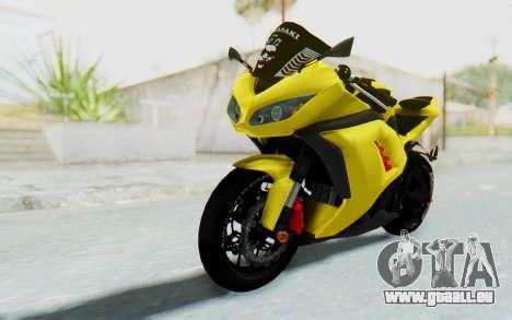Kawasaki Ninja 250 Abs Streetrace v2 pour GTA San Andreas