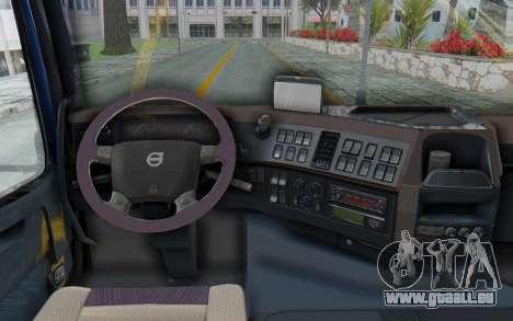 Volvo FMX 6x4 Dumper v1.0 Color pour GTA San Andreas vue arrière