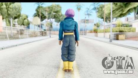 Dragon Ball Xenoverse Future Trunks SJ für GTA San Andreas dritten Screenshot