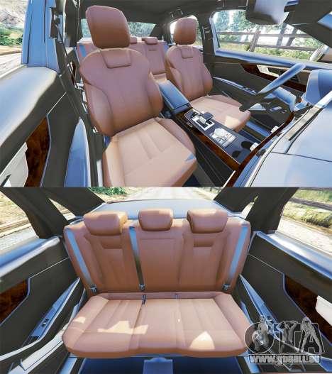 GTA 5 Audi A4 2017 Lenkrad
