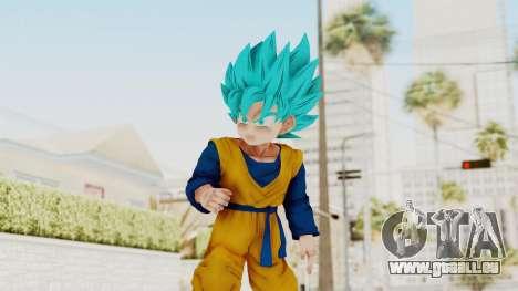Dragon Ball Xenoverse Goten SSGSS für GTA San Andreas