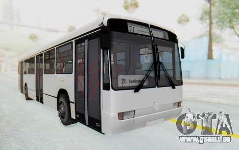 Pylife Bus pour GTA San Andreas vue de droite