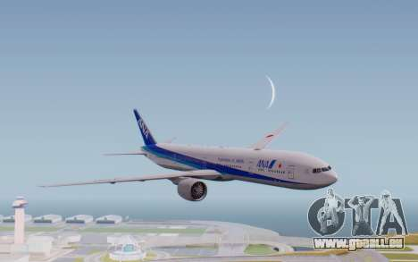Boeing 777-300ER ZK-OKO - Smaug Livery für GTA San Andreas