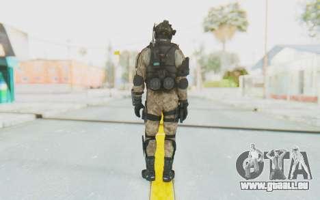 Federation Elite Assault Desert pour GTA San Andreas troisième écran