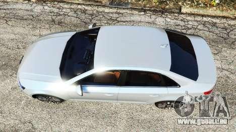 GTA 5 Audi A4 2017 v1.1 Rückansicht