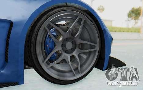GTA 5 Vapid FMJ für GTA San Andreas Rückansicht