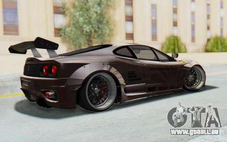 Ferrari 360 Modena Liberty Walk LB Perfomance v1 pour GTA San Andreas laissé vue