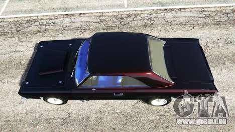 GTA 5 Dodge Dart 1968 Hemi Rückansicht