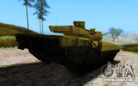 T-14 Armata Green für GTA San Andreas Rückansicht