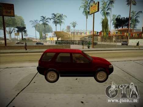 Ford Escape 2005 für GTA San Andreas Rückansicht