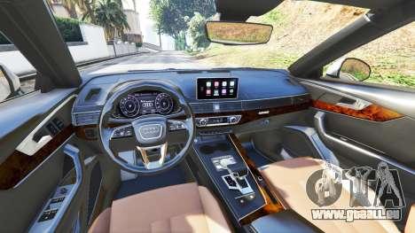 GTA 5 Audi A4 2017 v1.1 vorne rechts Seitenansicht