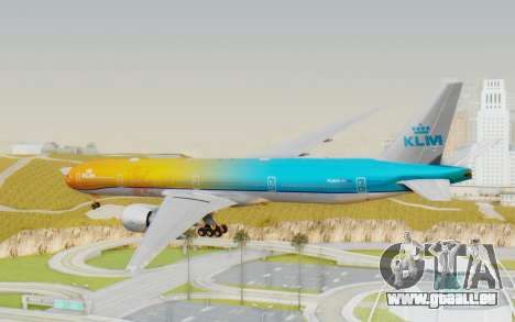 Boeing 777-300ER KLM - Royal Dutch Airlines v1 pour GTA San Andreas
