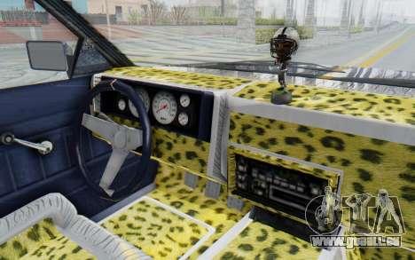 GTA 5 Willard Faction Custom Donk v1 für GTA San Andreas Innenansicht
