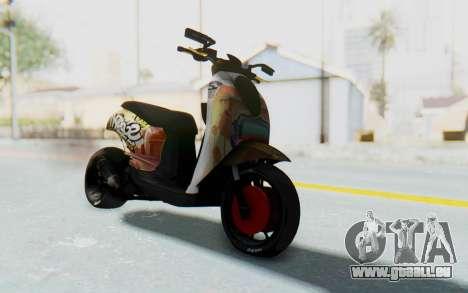 Honda Scoopyi Modified für GTA San Andreas