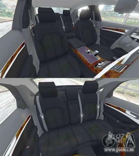 Audi A8 FSI 2010 pour GTA 5